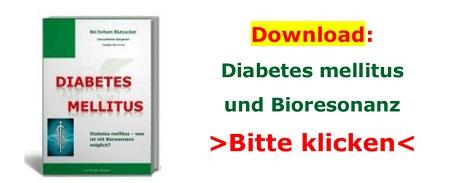 Diabetes mellitus, erhöhter Blutzucker – was ist mit Bioresonanz möglich
