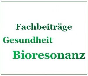 Bioresonanz Fachbeiträge