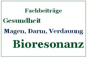 Bioresonanz und Magen, Darm, Verdauung