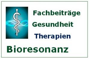Bioresonanz Fachbeiträge Therapien