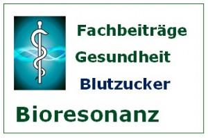 Bioresonanz Fachbeiträge Blutzucker