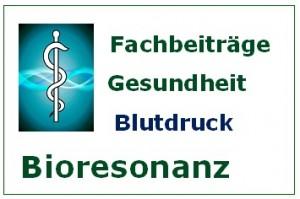 Bioresonanz Fachbeiträge Blutdruck
