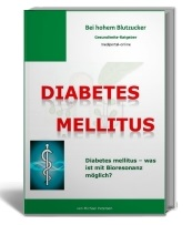 Cover Diabetes mellitus und Bioresonanz