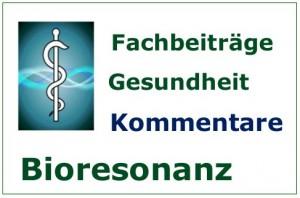 Bioresonanz, Fachartikel - Kommentare