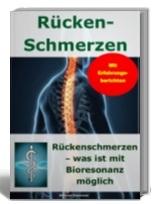 Cover Rückenschmerzen und Bioresonanz