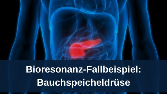 Bioresonanz-Fallbeispiel: Bauchspeicheldrüse