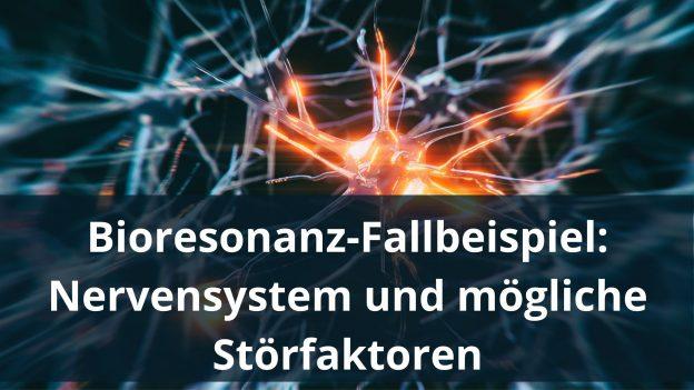 Bioresonanz-Fallbeispiel: Nervensystem und mögliche Störfaktoren