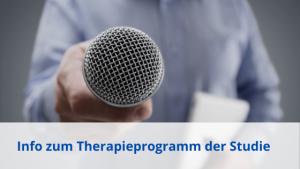 Bericht zum Therapieprogramm der Studie